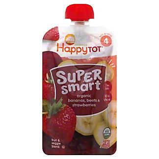 Happy Tot Super Smart Banana Beets Strawberries, 4 oz