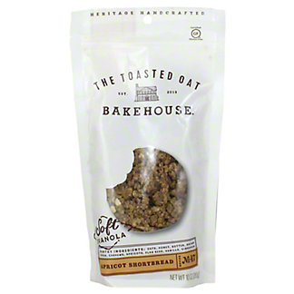 The Toasted Out Gluten Free Granola Apricot Shortbread, 10 oz
