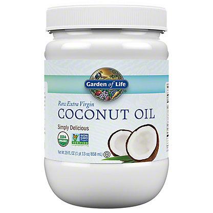 Garden of Life Raw Extra Virgin Coconut Oil, 29 oz