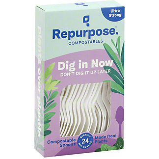 Repurpose Heat Tolerant Spoons, 24 ea