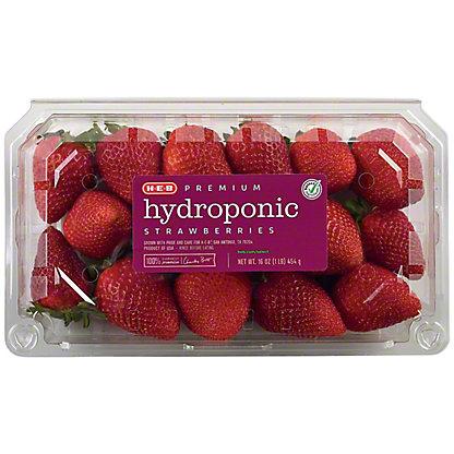 Fresh Hydroponic Strawberries (Limit 4), 1 lb