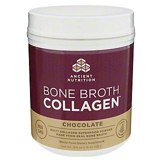 Ancient Nutrition Bone Broth Collagen Chocolate, 18.6 oz