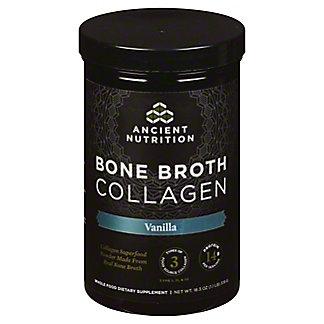 Ancient Nutrition Bone Broth Collagen Vanilla, 18.2 oz