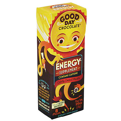 Good Day Chocolate With Energy, 8 ct