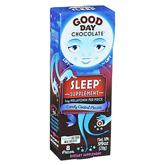 Good Day Chocolate With Sleep, 8 ct
