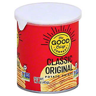 The Good Crisps Potato Crisp Original, 1.6 oz