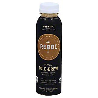REBBL Organic Maca Cold-Brew Elixr, 12 oz