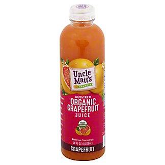Uncle Matts Organic Grapefruit Juice, 28oz