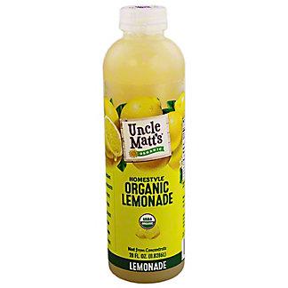 Uncle Matts Organic Lemonade, 28 Oz