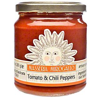 Masseria Mirogallo Tomato Sauce With Chili Pepper, 9.9OZ