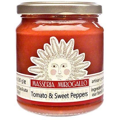 Masseria Mirogallo Tomato Sauce With Sweet Pepper, 9.9OZ