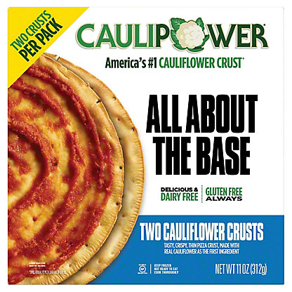 Caulipower Cauliflower Pizza Crust, 2 ct