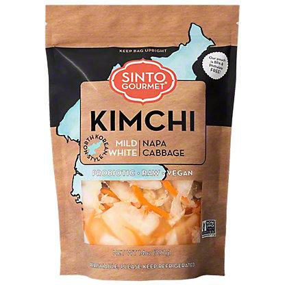 Sinto Gourmet Mild Napa Cabbage Kimchi, 16 Oz