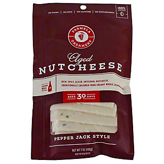 Parmela Creamery Nutcheese Slice Pepper Jack, 7 oz