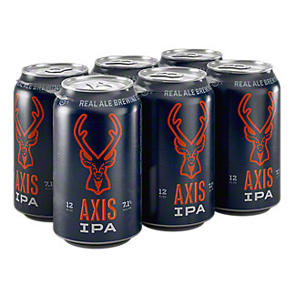 Real Ale Axis IPA 12 oz Cans, 6 pk
