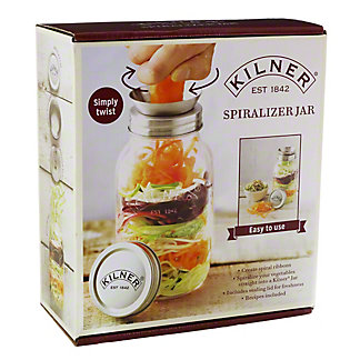 Kilner Spiralizer Jar, 34 oz