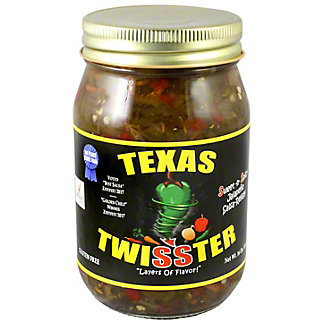 Texas Twisster Jalapeno Relish, 16 oz