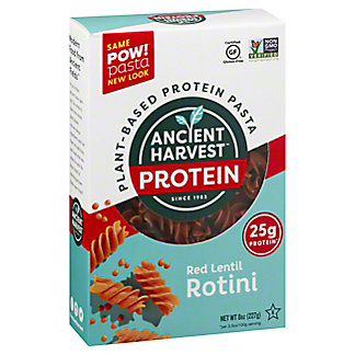 Ancient Harvest Pow! Pasta Red Lentil Rotini, 8 oz