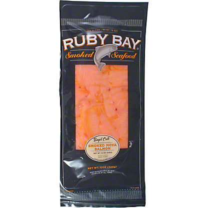 Ruby Bay Smoked Salmon Nova Bagel, 12 oz