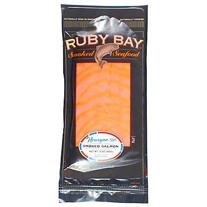 Ruby Bay Smoked Salmon Norwegian, 12 oz