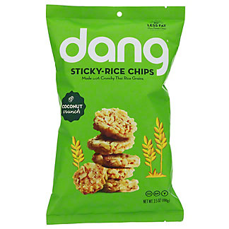 Dang Coconut Crunch Sticky Rice Chips, 3.5 oz