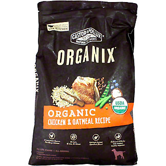 Organix Organic Dog Food Chicken & Oatmeal Recipe, 10 LB