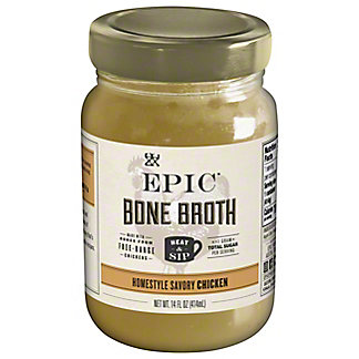 EPIC Homestyle Chicken Bone Broth, 14 oz