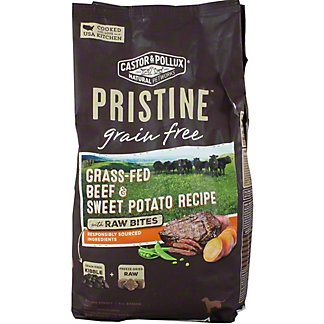 Castor & Pollux Pristine Dog Food Gr-free Grass-fed Beef and Sweet Potato, 4 LB