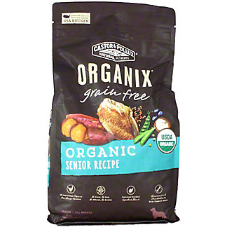 Castor & Pollux Organix Dog Food Grain-free Senior Dog Food, 4 lb