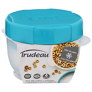 Trudeau Fuel Milk & Cereal Container, EACH