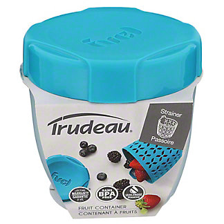 Trudeau Fuel Fruit Container, EACH