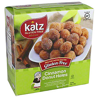 Katz Gluten Free Cinnamon Donut Holes, 6 oz