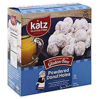 Katz Gluten Free Powdered Donut Holes, 6 oz