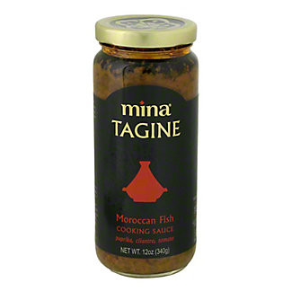 Mina Tagine Moroccan Fish Cooking Sauce, 12 oz