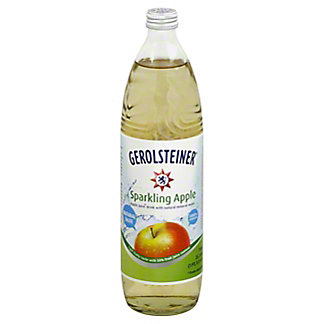 Gerolsteiner Sparkling Apple Juice, 25.3 oz