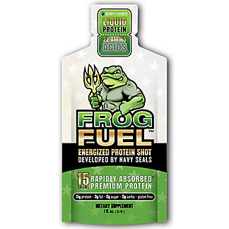 FrogFuel Energized Liquid Protein Shot, 1 oz