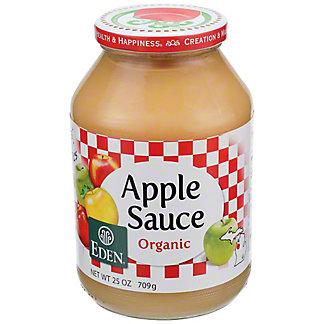 Eden Organic Applesauce, 25 oz