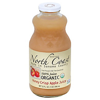 North Coast Organic Honeycrisp Apple Juice, 32 oz