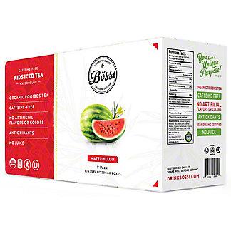 Bossi Kids Iced Tea Organic Watermelon, 8 pk