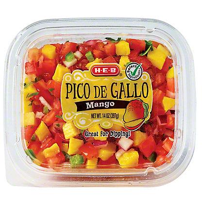 H-E-B Select Ingredients Mango Pico de Gallo, 14 oz