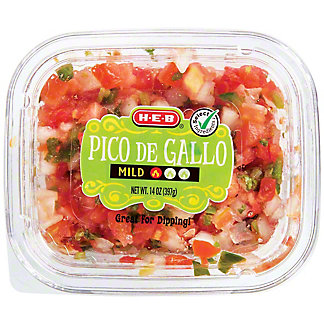 H-E-B Select Ingredients Mild Pico de Gallo, 14 oz