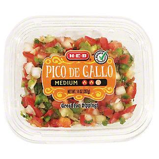 H-E-B Select Ingredients Medium Pico de Gallo, 14 oz