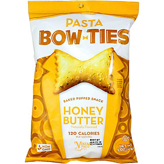 Vintage Pasta Chip Bowtie Honey Butter, 5 oz