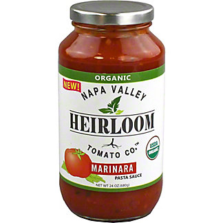 Napa Valley Heirloom Tomato Marinara Sauce, 24 oz