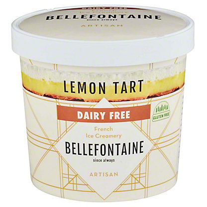 Bellefontaine Lemon Tart Ice Cream, 16 oz