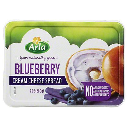 Arla Cream Cheese Blueberry, 7 oz