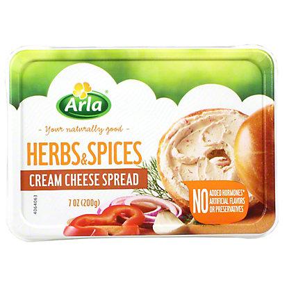 Arla Cream Cheese Herb Spices, 7 oz