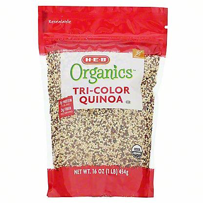 H-E-B Organics Tri-Color Quinoa, 16 oz