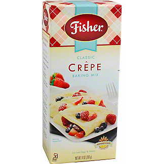 Fisher Crepe Mix, 14 Oz