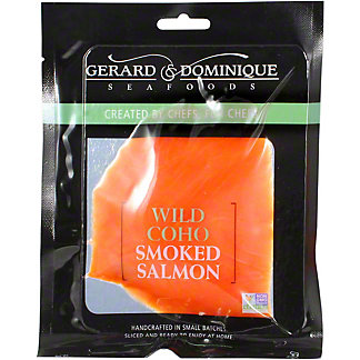 G&D SMOKED SALMON WILD COHO